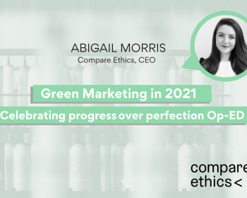 How to Communicate Green Claims - Abbie Morris Compare Ethics