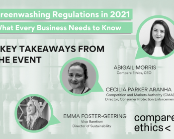 Greenwashing Regulation Webinar - What is Greenwashing? Abbie Morris , The CMA, Competition & Markets Authority